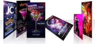 Printed Flyers - Design and Print Flyers to Promote Nightclubs