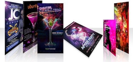 Nightclub cards absolutecolor wholesale online print services nightclub cards reheart Image collections